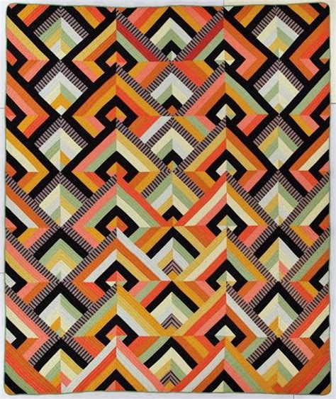 quilt pattern art deco 137 best quilting with striped fabric images on pinterest