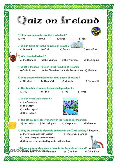 wb themes game answers quiz on ireland worksheet free esl printable worksheets