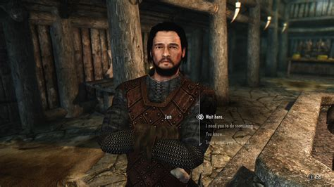 best mod game of thrones jon snow follower from hbo game of thrones at skyrim nexus