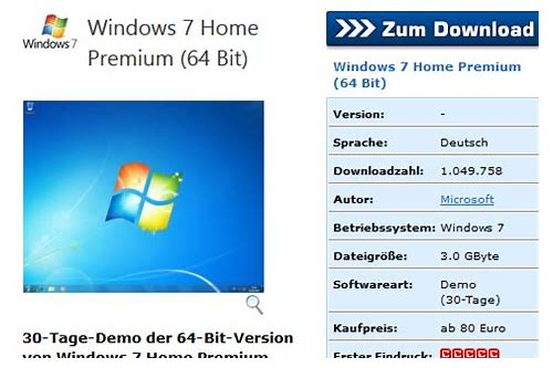 windows 7 home premium ultimative herunterladen kostenlos
