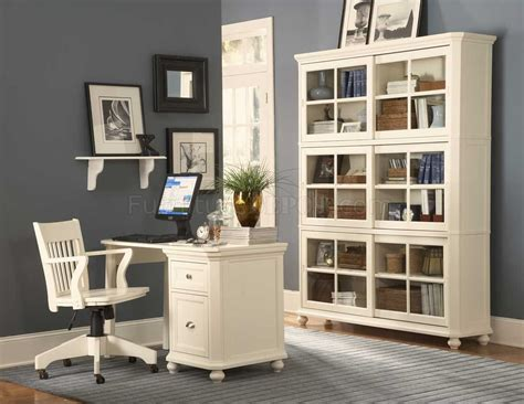 Home Office Desk Options 8891 White Home Office Desk By Coaster W Options