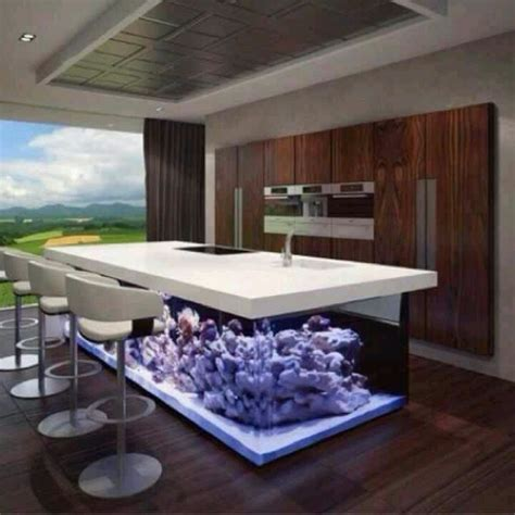 fish tank bar home decor cave salts
