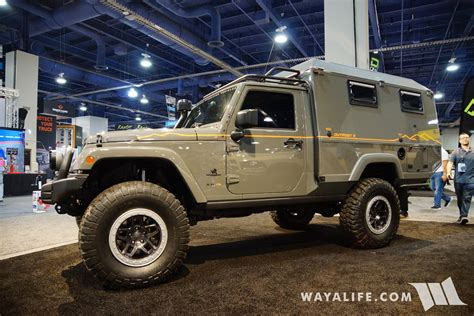 Jeep Ii 2017 sema aev outpost ii jeep jk wrangler cer