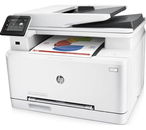 Printer Laserjet Wifi hp laserjet pro mfp m277dw all in one wireless laser printer deals pc world