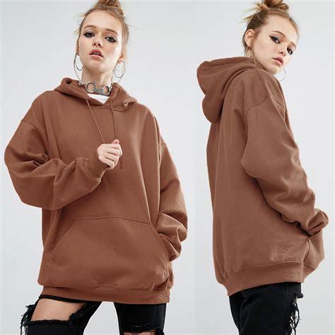 Hooded Plain Pullover hooded plain hoody sweatshirt pullover hoodies thin