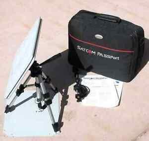 satcom passport portable antenna for dish or direct tv ebay