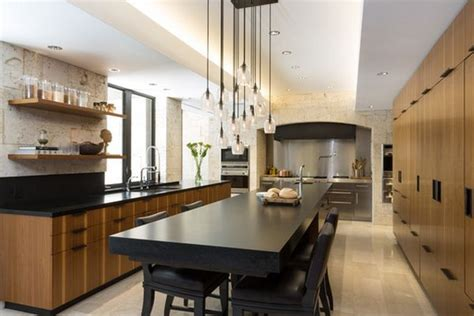 space around kitchen island floating around the house how suspended furniture can