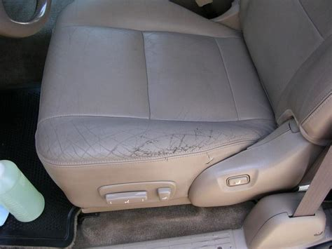 auto upholstery hayward ca cuts in leather auto seats hayward ca fibrenew bay area