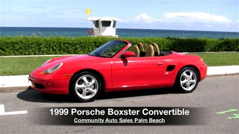 how cars engines work 1999 porsche boxster free book repair manuals 1999 porsche boxster convertible guards red community auto sales palm beach youtube