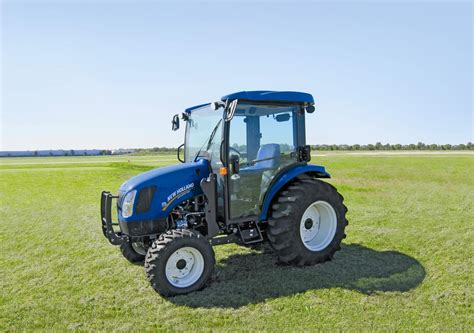 new compact new boomer 54d compact tractor wins quot machine of