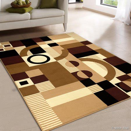 10 x 12 abstract geometric rug allstar brown area rug contemporary abstract