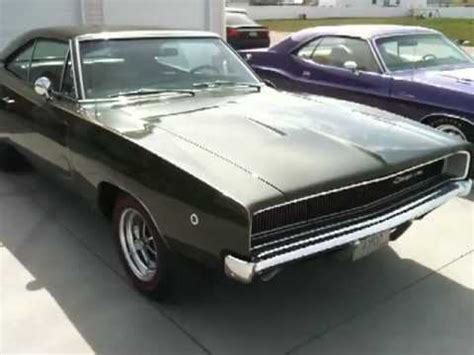 1970 challenger r/t plum crazy and 1968 charger youtube