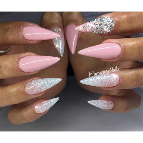 Jiuku Nail Purple Green White Glitter 63 10 images about stiletto nails on nail