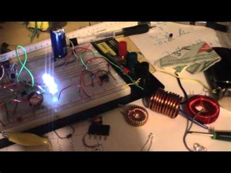 adding capacitor to joule thief schematics for joule thief bedini doovi