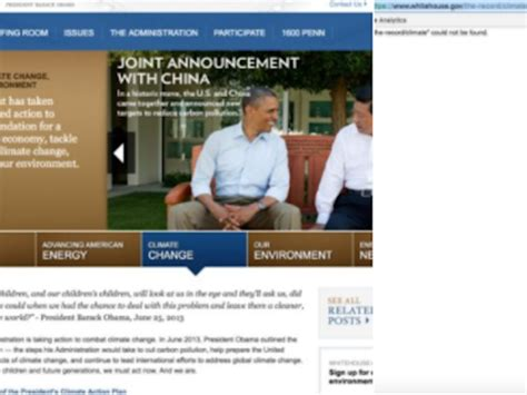 white house website climate change lgbt veterans sections removed from white house website kshb com 41