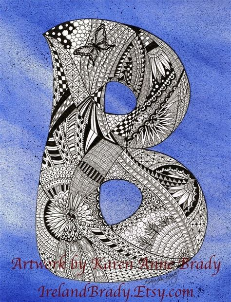 doodle inisial 39 best images about letters mandala on
