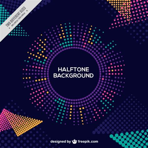 Halftone Abstract Creative Background Vector Free Download Creative Free