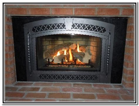 ventless gas fireplace insert lowes homedepot home