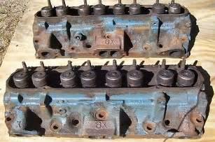 6x Pontiac Heads 1976 77 78 79 Pontiac 400 6x 8 Heads Firebird Trans Am