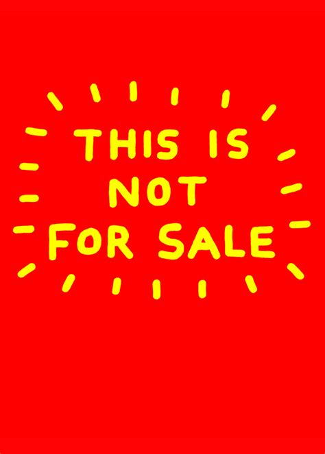 Is For Sale by This Is Not For Sale Ian Stevenson
