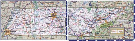 tennesse map large detailed roads and highways map of tennessee state with all cities vidiani maps of