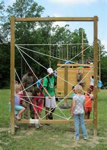 American Ninja Warrior Backyard Teambuilding Adventure Programs Hiram House Camp