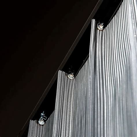 metal mesh curtains metal mesh curtain palisades addition pinterest
