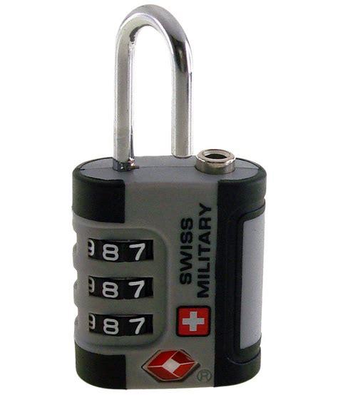 Swiss Army 2201 Silver Combi swiss silver black 3 tsa combination lock buy swiss silver black 3