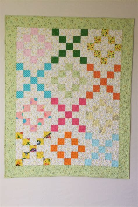 Hugs And Kisses Baby Quilt by Bunny Hugs Baby Quilt Hugs And Kisses Pattern Cotton