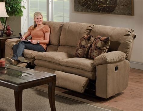 catnapper impulse reclining sofa impulse reclining sofa in cafe color fabric by catnapper