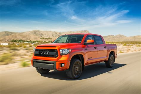 Toyota Tundra Trd Pro Price 2015 Toyota Tundra Trd Pro Front Three Quarter In Motion 05