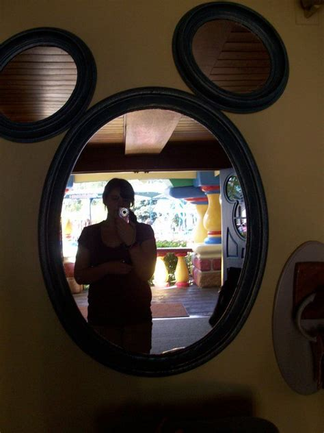 mickey mouse bathroom mirror mickey mirror disney pinterest