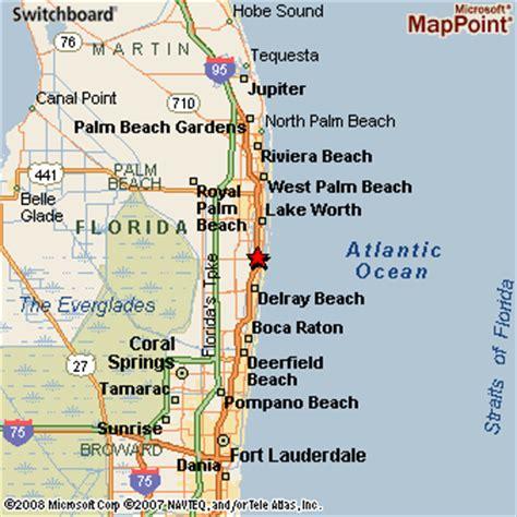 map of florida boynton boynton florida
