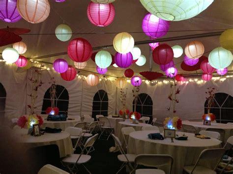 view       tent  lanterns
