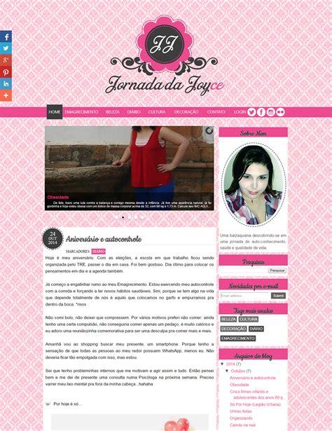 layout para blog feminino layout para blog feminino trabalho entregue cantinho do