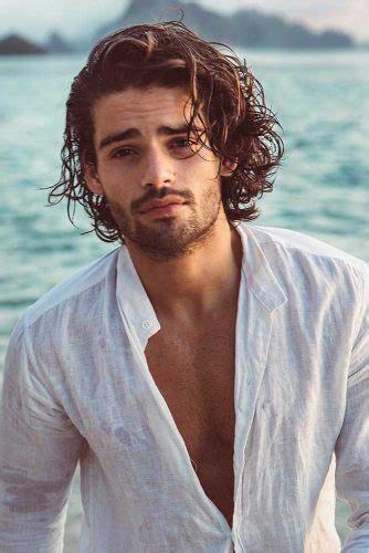 style curly hair men   sport