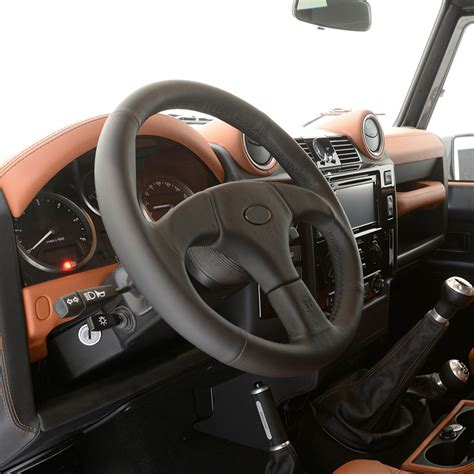 land rover steering wheel land rover defender tuning startech refinement