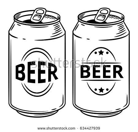 cartoon beer can can clipart beer can pencil and in color can clipart