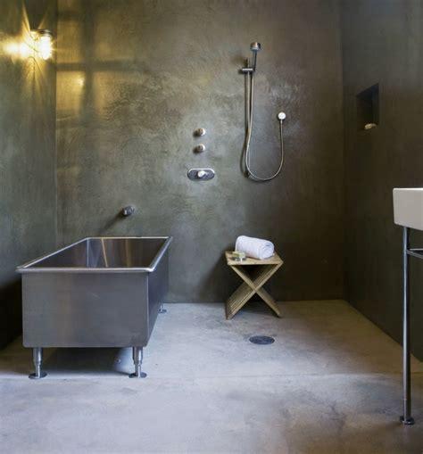 wand im badezimmer badezimmer ohne fliesen mal anders gestalten 26 ideen