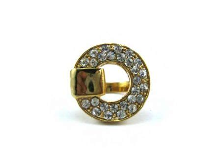 grosir cincin bulat warna emas ae205 rp 192 000