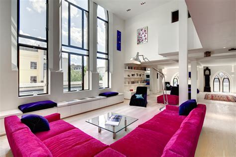 church gets converted into a beautiful home 12 pics victorian westbourne grove church turned into a loft