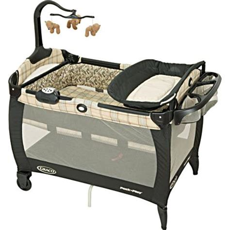 Graco Pack And Play With Changing Table Graco Swept Frame Pack N Play Portable Playard With Bassinet And Changing Table In