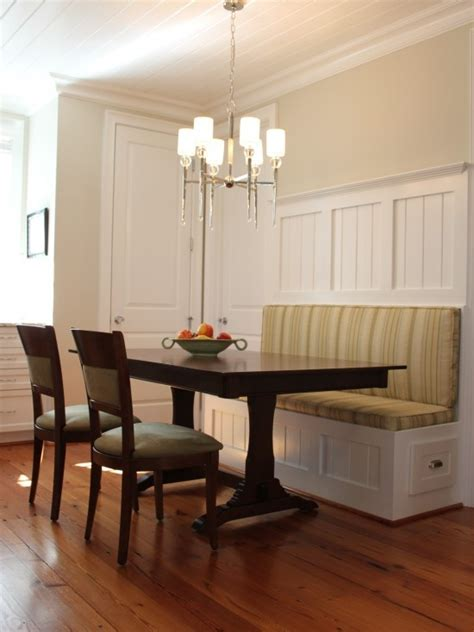 banquette seating kitchens craftsman