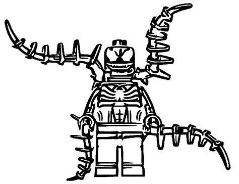 Lego Venom Coloring Page | lego venom coloring pages pictures to pin on pinterest