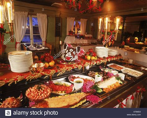 christmas buffets anaheim 2018 buffet or julbord at stallmastaregarden the oldest stock photo royalty free image