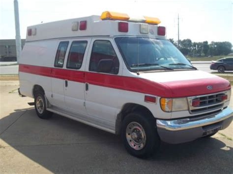 buy used 1997 ford e350 ambulance 7 3l powerstroke diesel in bowling green kentucky united states