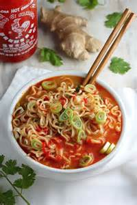 20 minute spicy sriracha ramen noodle soup baker by nature