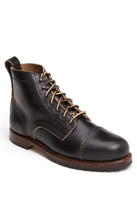 eastland s boots eastland usa boot in black for lyst