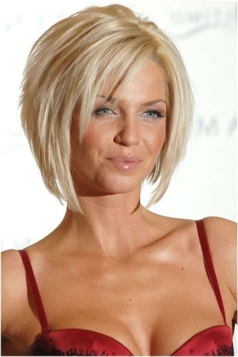 lagerte bob frisur fuer blondes haar frisuren