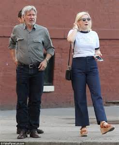 Ga Ford Harrison Ford Steps Out With After